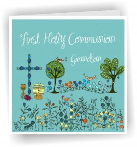 First Holy Communion Grandson