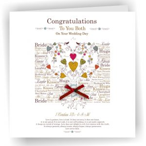 Wedding Greetings Card Tree Of Life