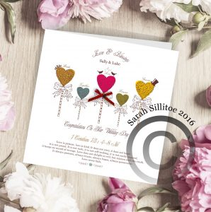 Christian Wedding Greetings Card