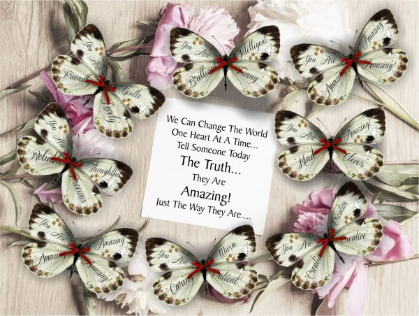Amazing positive Affirmation Butterflies