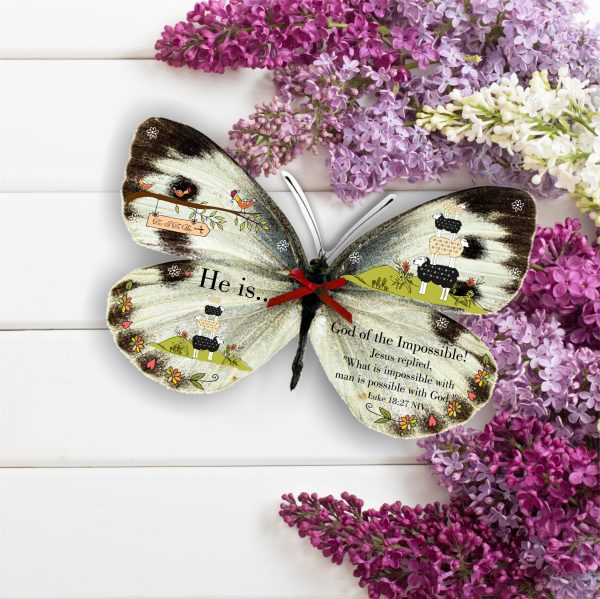 God Of The Impossible 3D Butterfly Gift
