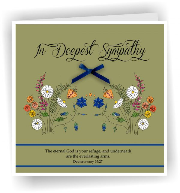 Deepest Sympathy Greetings Card