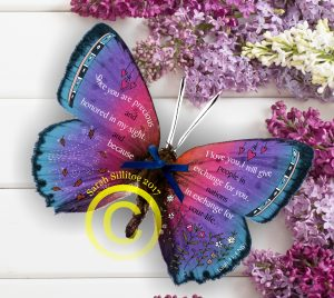 Isaiah 43 v 4 3D Butterfly
