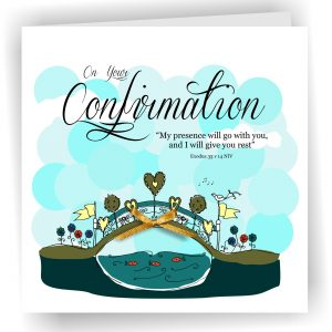 On Your Confirmation Greetings Card