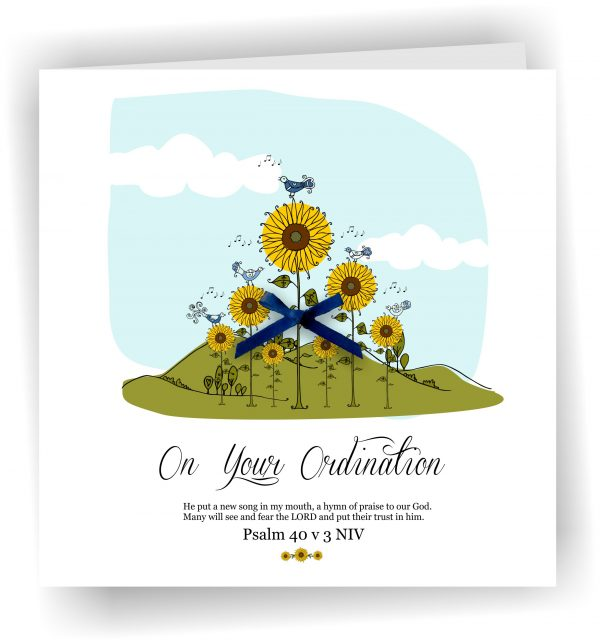 On Your Ordination Greetings Card