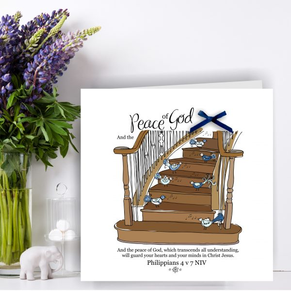 Peace stairs Art Card