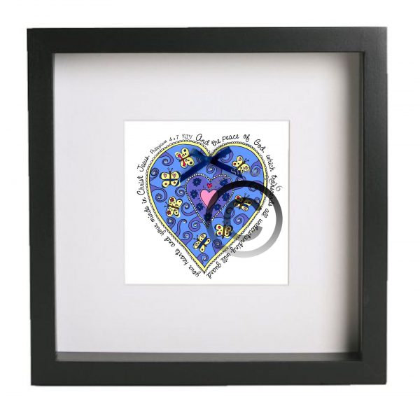 Philippians 4 v 7 Mounted & Framed Signed Limited Edition Print