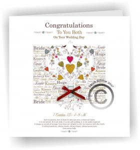 Wholesale 22 x Wedding Baptism and Holy First Communion, Ordination Cards 17