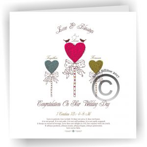 Wholesale 22 x Wedding Baptism and Holy First Communion, Ordination Cards 18