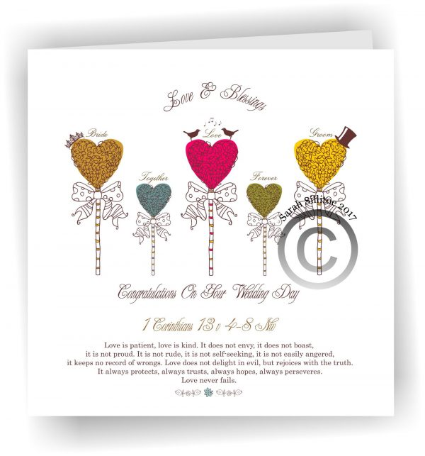 Wholesale 22 x Wedding Baptism and Holy First Communion, Ordination Cards 19