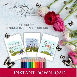 Instant Download Christian Colouring In Products