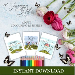 Instant Download Colouring In Products