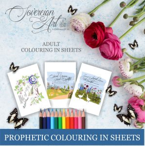 Prophetic Affimations Colouring In Sheet