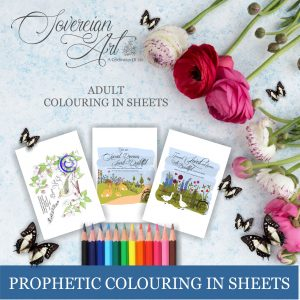 Prophetic Affirmations Adult Colouring In Sheets