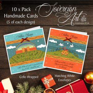 Christmas Cards Pack Luke 2 v 10 and Luke 2 v 11 Christian Greetings Card Multipack