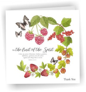 Fruit Of The Spirit Thank you card